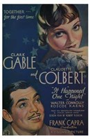 """It Happened One Night Connoly And Carns - 11"""" x 17"""""""