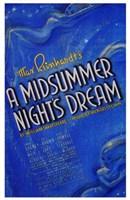 """Midsummer Night's Dream  a - 11"""" x 17"""""""
