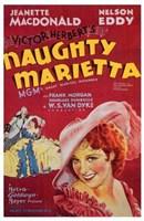 Naughty Marietta Wall Poster
