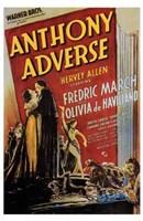 "Anthony Adverse - 11"" x 17"""