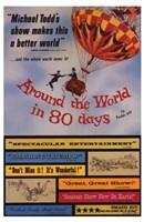 """Around the World in 80 Days Vintage - 11"""" x 17"""""""