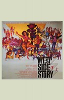 West Side Story Square Fine Art Print