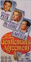 """Gentleman's Agreement - 11"""" x 17"""""""