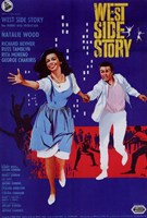 West Side Story Musical Natalie Wood Framed Print