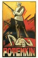 "The Battleship Potemkin Art Deco - 11"" x 17"""