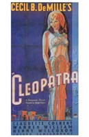 Cleopatra Art Deco Cecil B. DeMille Wall Poster