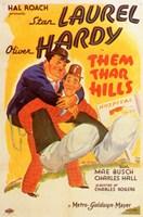 """Them Thar Hills - 11"""" x 17"""" - $15.49"""