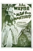 Man from Monterey John Wayne Wall Poster