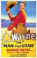 "The Man from Utah - 11"" x 17"""