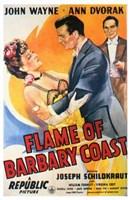 "Flame of the Barbary Coast - 11"" x 17"""