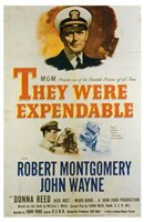"""They Were Expendable The Film - 11"""" x 17"""""""