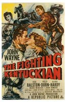 The Fighting Kentuckian Wall Poster