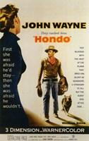 Hondo John Wayne Wall Poster