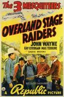 "Overland Stage Raiders - 11"" x 17"", FulcrumGallery.com brand"