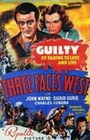"Three Faces West - 11"" x 17"", FulcrumGallery.com brand"