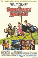 "Swiss Family Robinson Lost Island - 11"" x 17"""