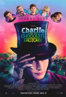 Charlie and the Chocolate Factory Johnny Depp Wall Poster