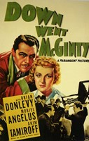 "Down Went Mcginty - 11"" x 17"" - $15.49"