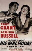 His Girl Friday Wall Poster