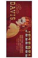Jezebel - red Wall Poster
