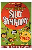 """Silly Symphony - 11"""" x 17"""""""