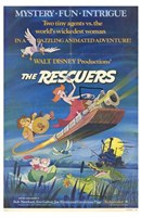 """The Rescuers - Two tiny agents vs. the world's wikedest woman - 11"""" x 17"""""""
