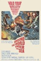 """Around the World Under the Sea - 11"""" x 17"""""""