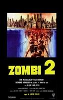 """Zombi 2 Swarm to Cities - 11"""" x 17"""""""