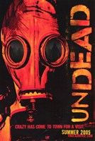 Undead - mask Wall Poster