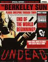 """Undead - End of the world beginning - 11"""" x 17"""""""