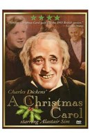 A Christmas Carol Alastair Sim Wall Poster
