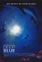 """Deep Blue - 11"""" x 17"""""""