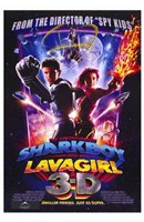 "Adventures of Shark Boy Lava Girl in 3- - 11"" x 17"""