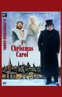 A Christmas Carol George C. Scott Fine Art Print