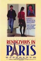 """Rendezvous in Paris - 11"""" x 17"""""""