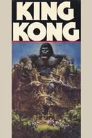 """King Kong Crushing Train I - 11"""" x 17"""" - $15.49"""
