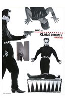 """The Nomi Song - who is Klaus Nomi - 11"""" x 17"""""""
