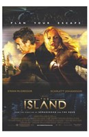 The Island Wall Poster