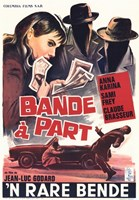 """Band of Outsiders Bande A Part French - 11"""" x 17"""""""
