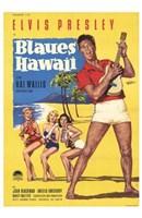 """Blue Hawaii - 11"""" x 17"""""""