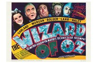 The Wizard of Oz Dark Wall Poster