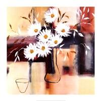 """Daisy Impressions I by Natasha Barnes - 28"""" x 28"""""""