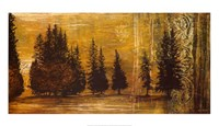 "Forest Silhouettes I by Linda Thompson - 39"" x 22"""