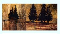 """Forest Silhouettes II by Linda Thompson - 39"""" x 22"""""""