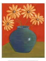 "Fun Floral I by Heather Donovan - 12"" x 16"" - $9.49"