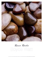 River Rocks Fine Art Print