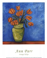 Orange Tulips Fine Art Print