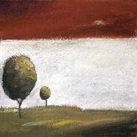 "Treetops IV by Ursula Salemink-Roos - 5"" x 5"", FulcrumGallery.com brand"