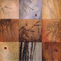 "Bamboo Nine Patch by Don Li-Leger - 5"" x 5"""