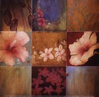 Tropical Nine Patch II Fine Art Print